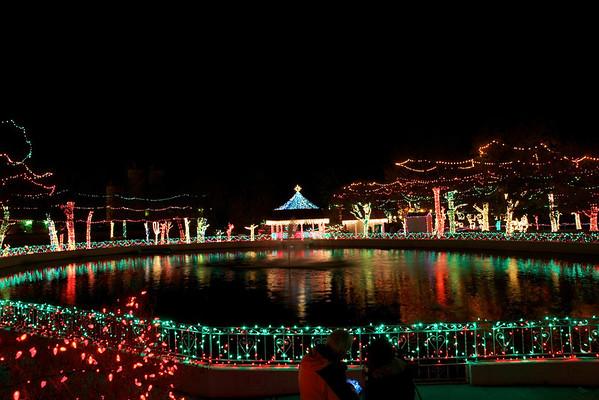 Rhema College Christmas Lights 2011